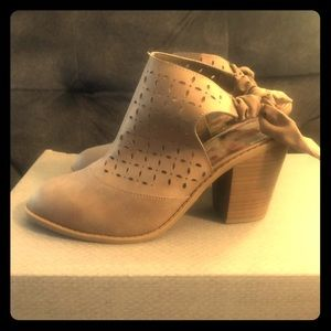 Adorable Ankle Booties In Taupe